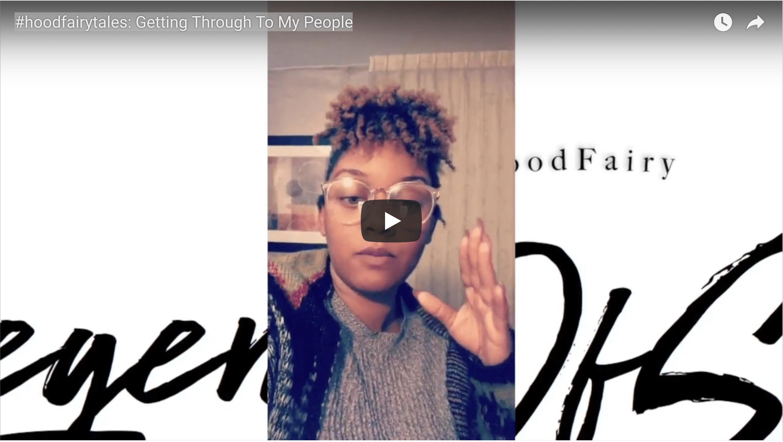 hoodfairytales: getting through to my people