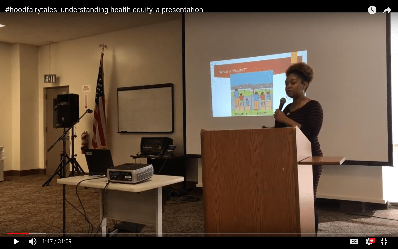 hoodfairytales: understanding health equity, a keynote